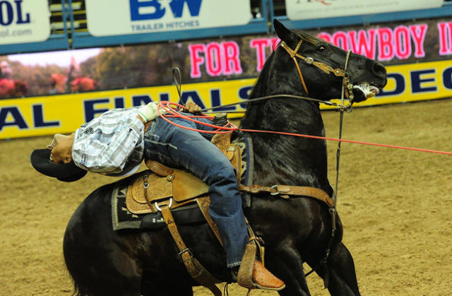 National Finals Rodeo First Go Round Photos Las