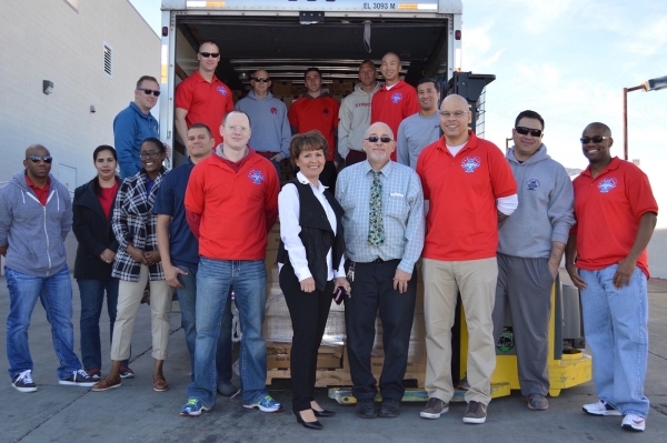 America First Credit Union donated $10,000 in turkeys to Nellis Air Force Base through Operation Warmheart on Nov. 20, 2015. In partnership with SmithþÄôs Food & Drug, the credit unio ...