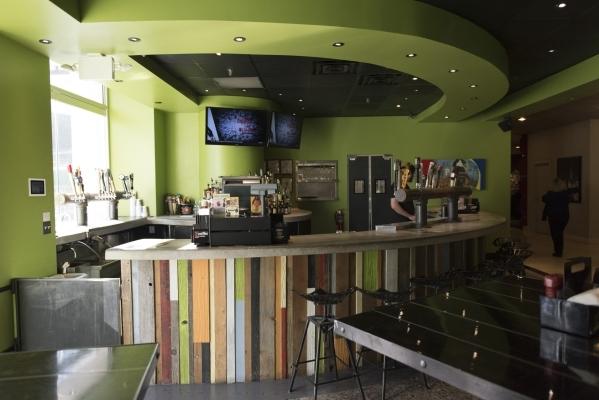 Beer Garden Beercraft & Foodery at the Plaza hotel-casino in Las Vegas is shown Tuesday, Dec. 1, 2015. Jason Ogulnik/Las Vegas Review-Journal