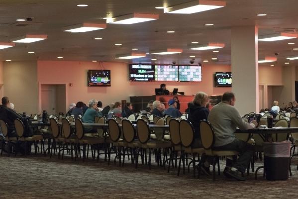 The bingo room at the Plaza hotel-casino in Las Vegas is shown Tuesday, Dec. 1, 2015. Jason Ogulnik/Las Vegas Review-Journal