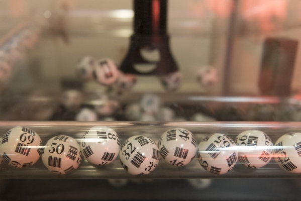 The ball cage in the bingo room at the Plaza hotel-casino in Las Vegas is shown Tuesday, Dec. 1, 2015. Jason Ogulnik/Las Vegas Review-Journal