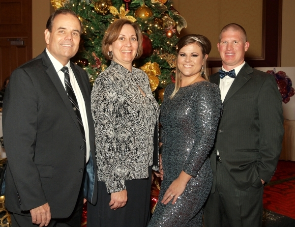 Ray and Gail Nelson, from left, and Cynthia and Chris Burr