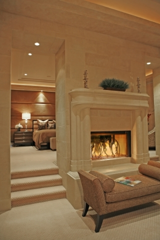 """Fireplaces are an interesting way to warm the room,"" says Daniel Coletti, president of Sun West Custom Homes LLC. ""They can throw off a lot of heat. ... And on a lot of them there  ..."