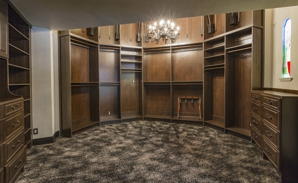 The home at 500 Rancho Circle features a circular master closet. DAVID REISEMAN/REAL ESTATE MILLIONS