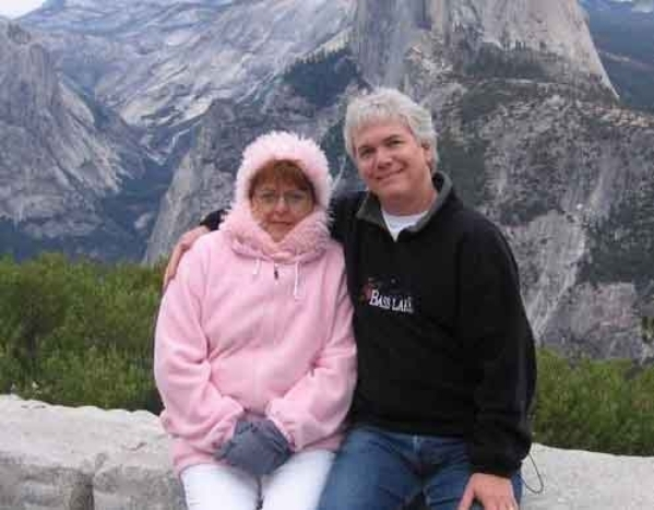 Marianne and Whitney Phoenix share a moment in 2004 at Half Dome in Yosemite National Park. The Summerlin pair has performed at several Las Vegas hotel-casinos, and Marianne is in a new show with  ...