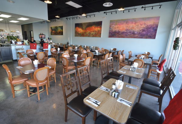 The interior of Truffles N Bacon Cafe is shown at 8872 S. Eastern Ave. in Las Vegas on Saturday, Dec. 5, 2015. Bill Hughes/Las Vegas Review-Journal