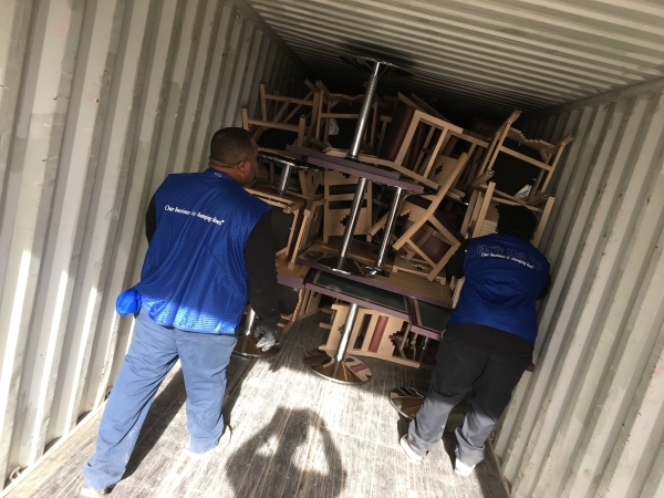 On Dec. 4, UnitedHealthcare donated a truck full of furniture to Goodwill. Special to View