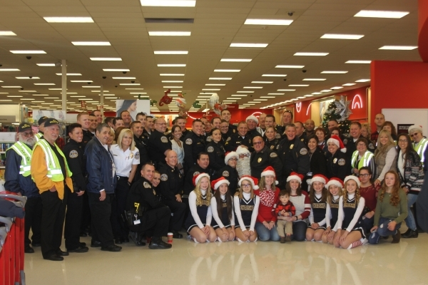 More than 100 pre-teens were paired up with officers to shop Dec. 5 during the Henderson Police Officers' Association's Shop with a Cop event at Target, 350 W. Lake Mead Parkway. Speci ...