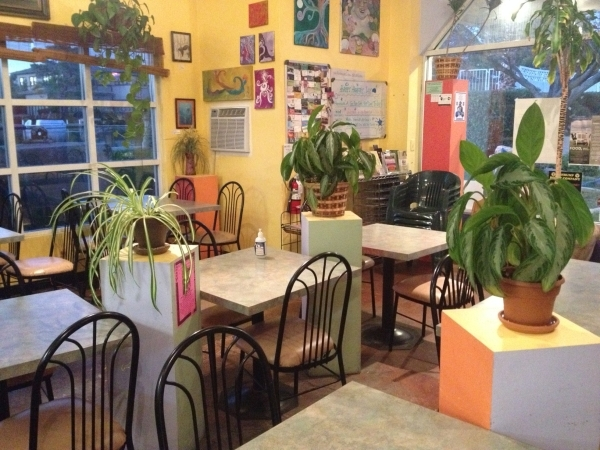 The interior of Go Raw Cafe is shown at 2910 Lake East Drive. There is also a location on Windmill Lane. Sandy Lopez/View