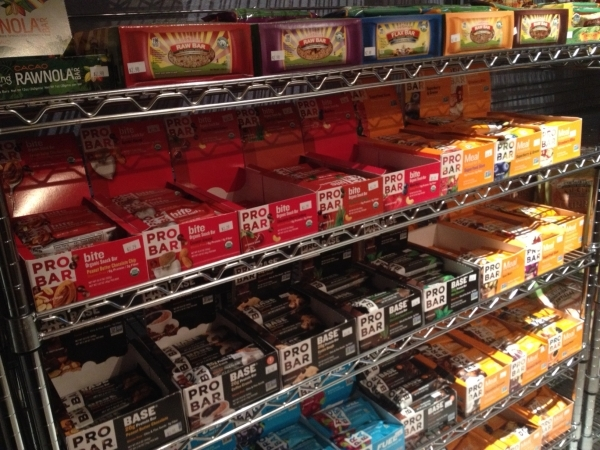 Pantry snacks are shown at Go Raw Cafe, 2910 Lake East Drive. Sandy Lopez/View