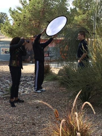 On Dec. 5, 2015, residents of HELP of Southern NevadaþÄôs Shannon West Homeless Youth Center were treated to a day of beauty and pampering by Help-Portrait, a group of worldwide photograp ...
