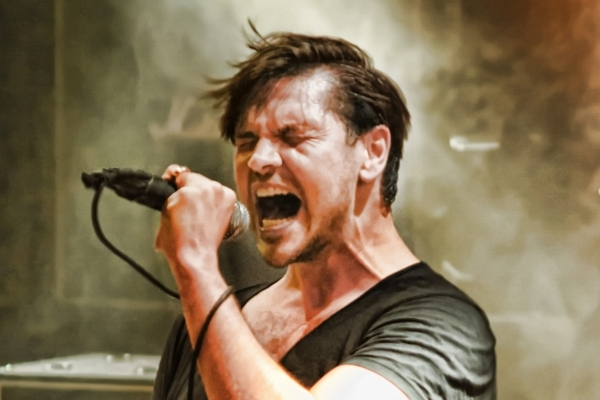 """I'm very pro-Vegas,"""" Adelitas Way frontman Rick DeJesus says. """"Eleven years later, here I am, and I'm very proud to be from Las Vegas, and I'm very proud of this city.  ..."""