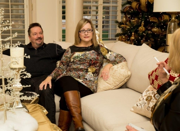 Las Vegas high-profile couple Terry Fator and Angie Fiore talk about being home for the holidays.   TONYA HARVEY/REAL ESTATE MILLIONS