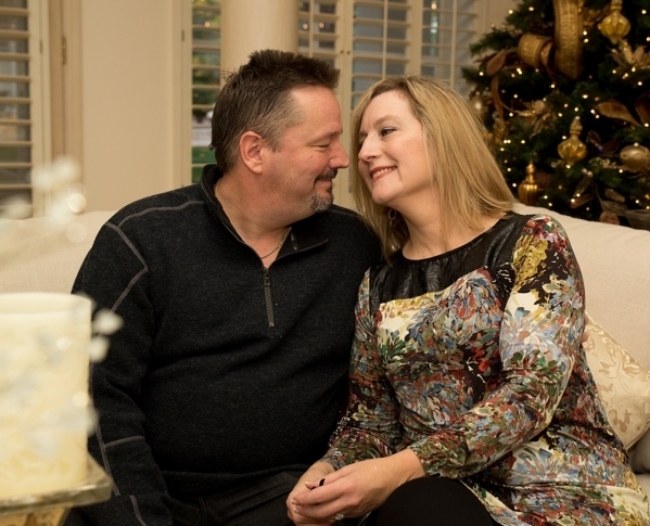 Las Vegas headliner Terry Fator and his wife, Angie Fiore, were married Nov. 28.   TONYA HARVEY/REAL ESTATE MILLIONS