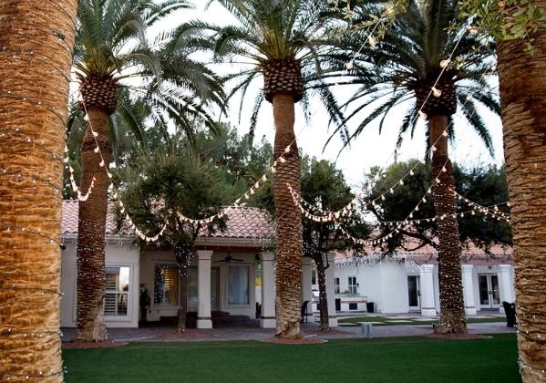 The southeast Las Vegas home Terry Fator and his wife, Angie Fiore, share is near Wayne Newton's Casa de Shenandoah. TONYA HARVEY/REAL ESTATE MILLIONS