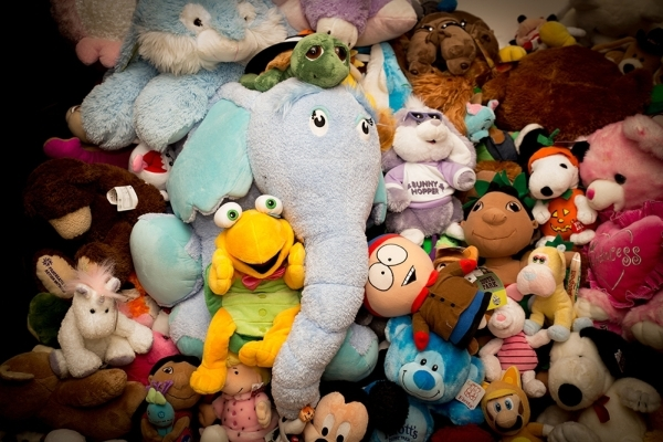 Stuffed toys in one of the bedrooms. Fator's puppets are kept at The Mirage.   TONYA HARVEY/REAL ESTATE MILLIONS