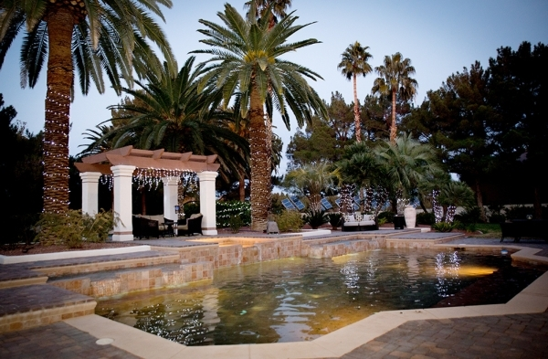 """Strip headliner Terry Fator calls himself """"Mr. Christmas.""""  He says he puts up his holilday decorations after Halloween. He shares his Mediterranean-style home  in southeast Las Vegas ne ..."""