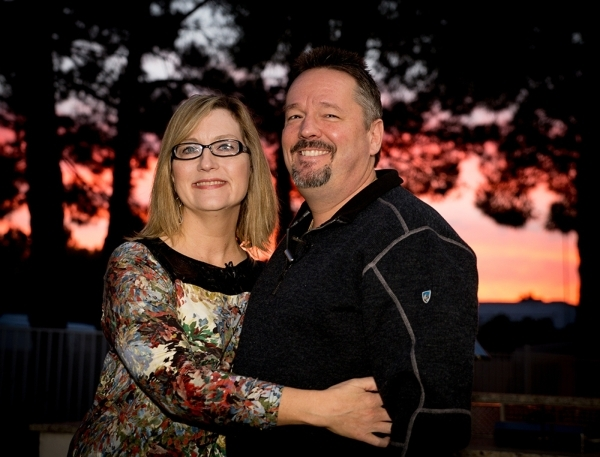 Newlyweds Terry Fator and Angie Fiore say they like their southeast home and its historical neighborhood.   TONYA HARVEY/REAL ESTATE MILLIONS