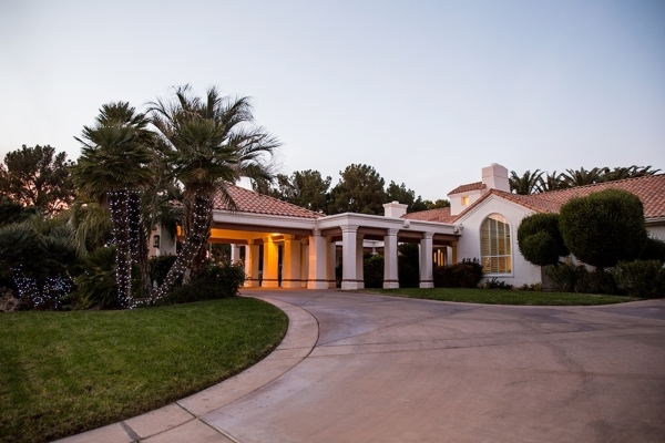 Terry Fator purchased his 2012 southeast home from Treasure Island owner Phil Ruffin, who recently bought the nearby 10-acre Primm Ranch.   TONYA HARVEY/REAL ESTATE MILLIONS