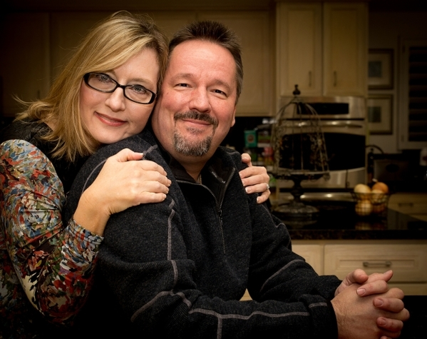 Terry Fator and Angie Fiore are ready for the holidays.   TONYA HARVEY/REAL ESTATE MILLIONS