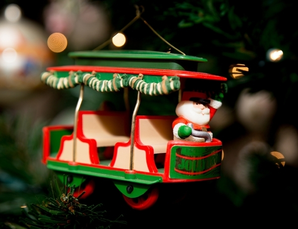 Hanging on the tree are one-of-a-kind decorations.   TONYA HARVEY/REAL ESTATE MILLIONS