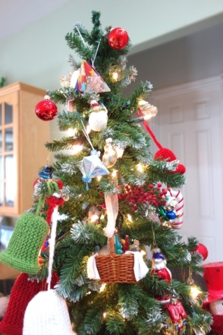 For new homeowners, the advice is start small and build your ornament collection. COURTESY DIANE TAYLOR