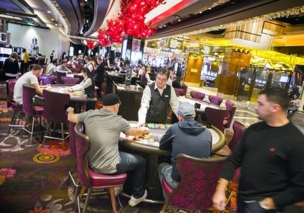 The live gaming area of the  Cosmopolitan of Las Vegas, 3708 S. Las Vegas Boulevard is seen on  Thursday, Dec. 10, 2015 .Jeff Scheid/Las Vegas Review-Journal Follow him @jlscheid
