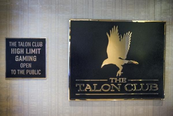 The entrance of The Talon Club at  Cosmopolitan of Las Vegas, 3708 S. Las Vegas Boulevard is seen on  Thursday, Dec. 10, 2015 .Jeff Scheid/Las Vegas Review-Journal Follow him @jlscheid