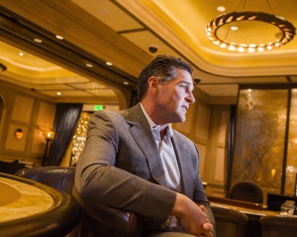 Cosmopolitan of Las Vegas president and CEO Bill McBeath sits for a photo in  The Talon Club on  Thursday, Dec. 10, 2015 .Jeff Scheid/Las Vegas Review-Journal Follow him @jlscheid