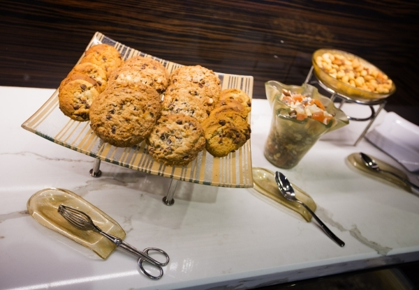 Complimentary snacks is seen Tuesday, Dec. 22, 2015 in the new high limit room at The Cosmopolitan of Las Vegas, 3708 S. Las Vegas Boulevard. Jeff Scheid/ Las Vegas Review-Journal Follow @jlscheid