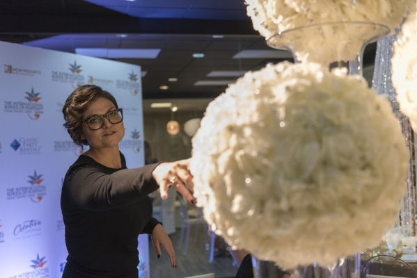 Instructor Brit Bertino gives a tour of the design lab at The International School of Hospitality in Las Vegas Wednesday, Dec. 9, 2015. Jason Ogulnik/Las Vegas Review-Journal