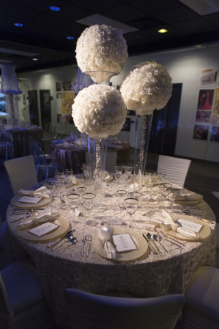 The Special Events Design Lab, designed and sponsored by MGM Resorts Event Productions, at The International School of Hospitality in Las Vegas is seen Wednesday, Dec. 9, 2015. Jason Ogulnik/Las V ...