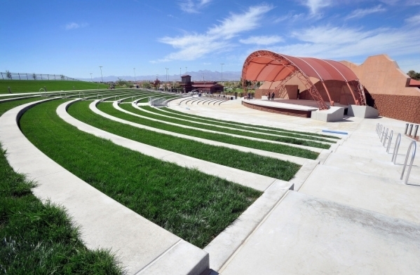The new amphitheater at Craig Ranch Regional Park is seen on Sept. 29 in North Las Vegas. David Becker/View file photo