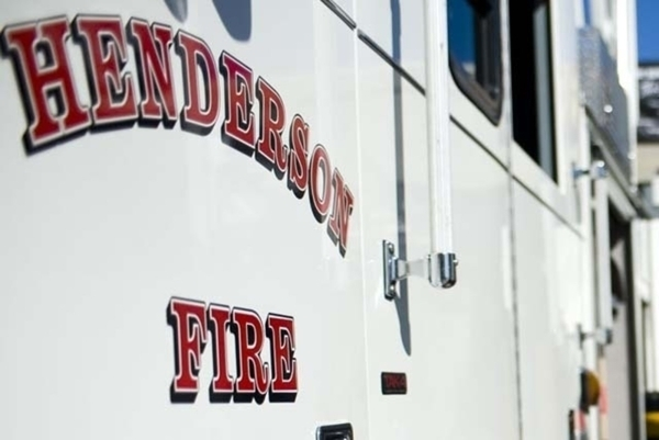 The Henderson Fire Department truck. (View file photo)