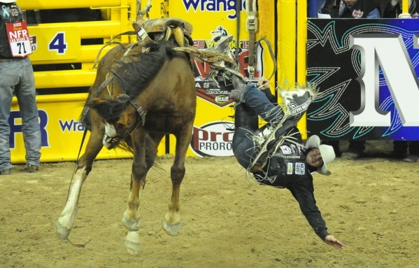 National Finals Rodeo Seventh Go Round Results Las Vegas Review Journal