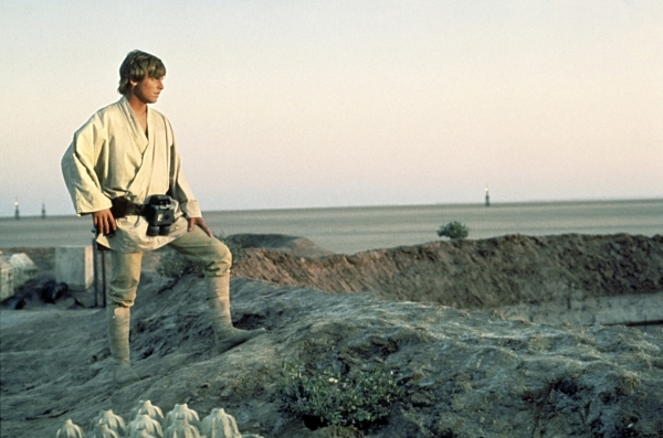 "Mark Hamill appears in a scene from ""Star Wars."" (Courtesy of Lucasfilm)"
