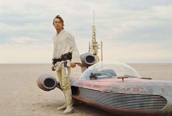 """Mark Hamill appears in a scene from """"Star Wars."""" (Courtesy of Lucasfilm)"""