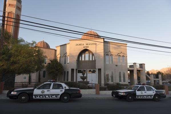 Jamia Masjid Mosque at 4730 E. Desert Inn Road in Las Vegas is seen Sunday, Dec. 13, 2015. Jason Ogulnik/Las Vegas Review-Journal
