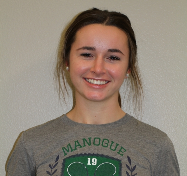 Brittany Leonard, Bishop Manogue: The junior finished third in the Division I Northern Region singles tournament.