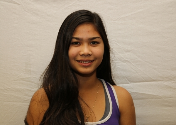 Criszelle Castro, Silverado: The junior teamed with Megan Lopez to finish second in the Sunrise Region doubles tournament.