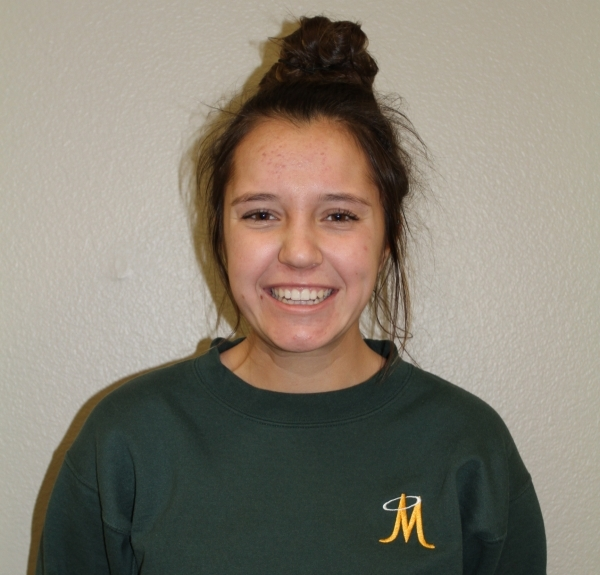 Halle Turek, Bishop Manogue: The junior teamed with Rose Berry to finish second in the Division I Northern Region doubles tournament.