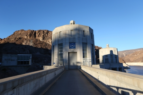 The Hoover Dam is seen on Thursday, Dec. 17, 2015. Erik Verduzco/Las Vegas Review-Journal Follow @Erik_Verduzco