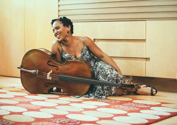 Shana Tucker is seen in this undated photo to promote her initial release þÄúSHiNE.þÄù Tucker is a cellist and vocalist with þÄúKAþÄù at the MGM Grand. She plan ...