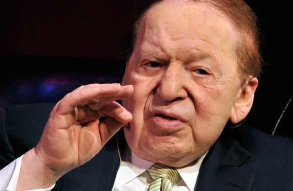 Las Vegas Sands Corp. CEO Sheldon Adelson is shown during an event at UNLV on Monday, May 5, 2014. David Becker/Las Vegas Review-Journal