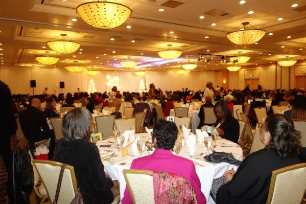 The Links Inc. White Christmas Jazz Luncheon and Fashion Extravaganza fundraiser drew a crowd of 500-plus to the Nevada Ballroom at the Gold Coast Dec. 12. Diane Taylor/Special to View
