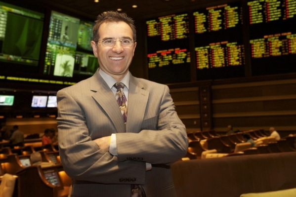Johnny Avello, Wynn hotel's director of race and sports operations (Courtesy)