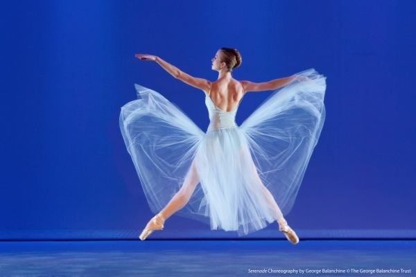 "Nevada Ballet Theatre presented ""Serenade"" and two other works by legendary choreographer George Balanchine during ""A Balanchine Celebration."" COURTESY NEVADA BALLET THEATRE"