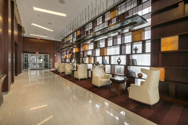 The Panorama Towers residents can take advantage of VIP services, such as free concierge and limo rides to the airport; a 5,000-square-foot fitness facility with lavish spa amenities; a guarded ga ...