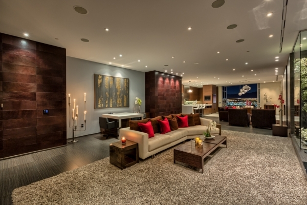 Unit 2400 Panorama Towers was custom-built for City Center President Bobby Baldwin.   COURTESY