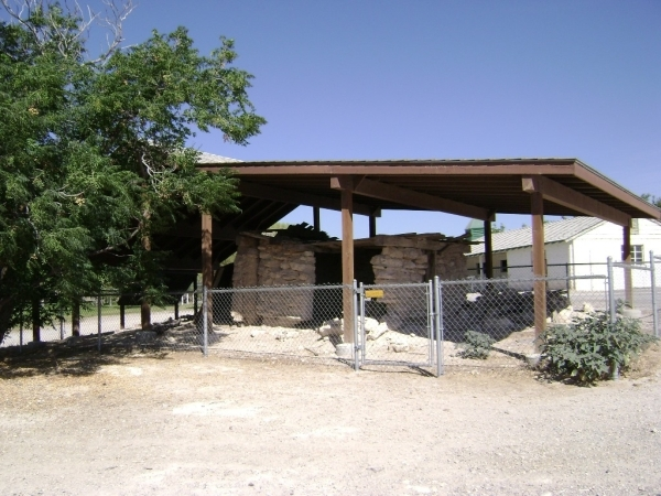 A view of the adobe hut from 2007, before its north wall caved. Courtesy photo